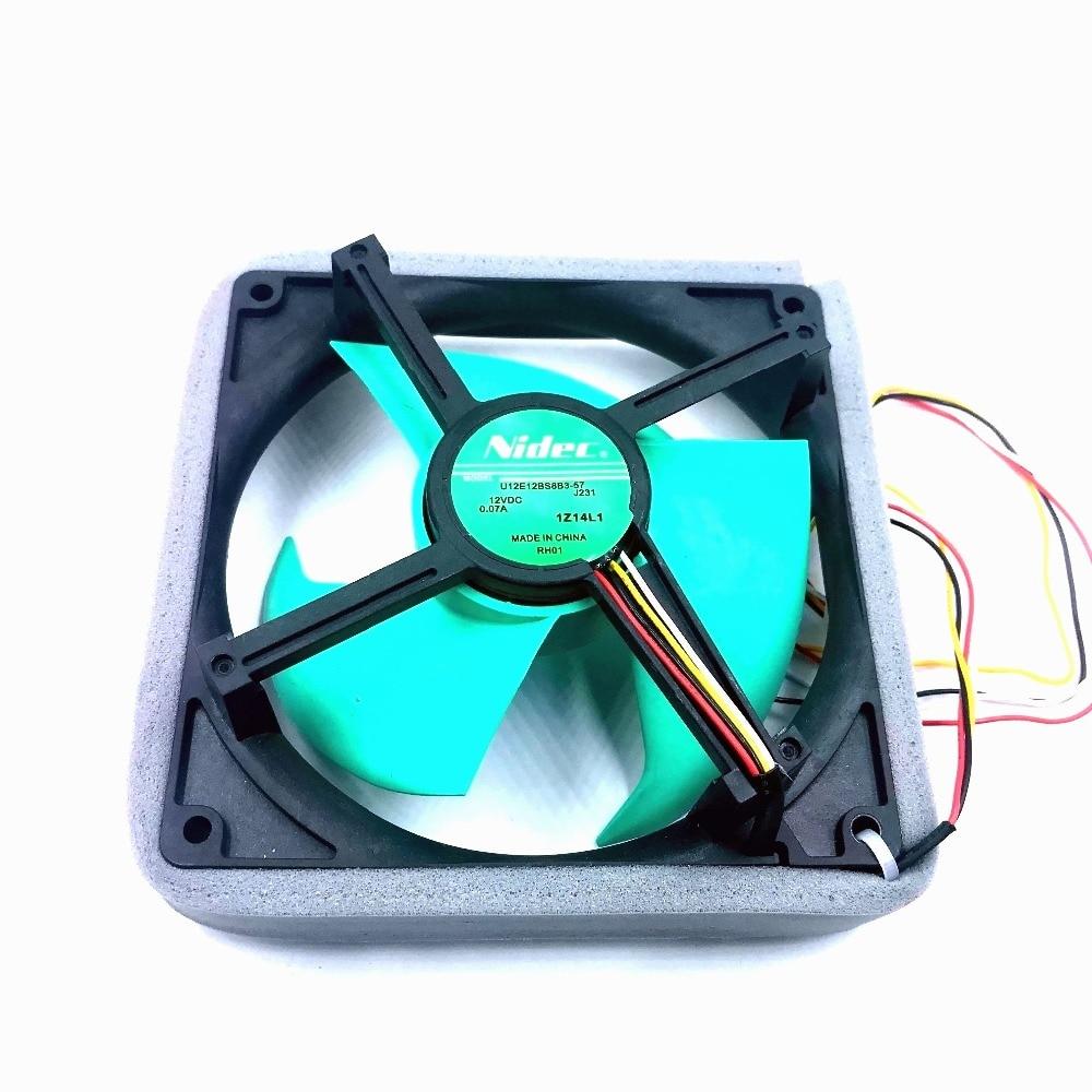 Nidec new version U12E12BS8B3-57 J231 vs U12E12BS8F3-57 12V 0.07A Waterproof Silent Cooling FanNidec new version U12E12BS8B3-57 J231 vs U12E12BS8F3-57 12V 0.07A Waterproof Silent Cooling Fan