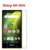 5 Stücke Ultra Thin Klar HD Lcd-bildschirm Schutzfolie Film Mit Reinigungstuch Für Sharp AQUOS Kompakte SH-02H Mobile DM-01.