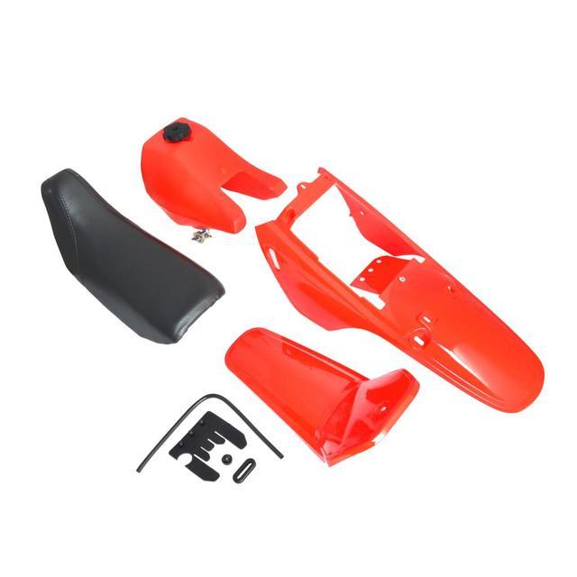 NICECNC Motorcycle Plastic Fairing Kit Body Frames For Yamaha PW80 ...