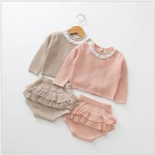 Dubeyi Autumn Baby Girl Clothing Sets newborn Cotton