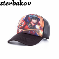 Men Women Online Wholesale Fashion Summer Shade Net Mesh Baseball Cap Style Hat Sports A Simple