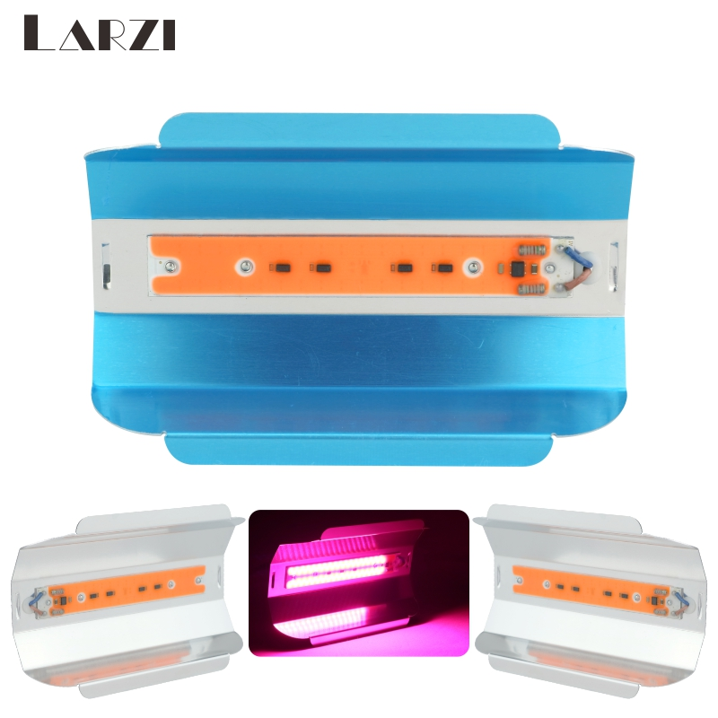 LARZI LED Grow Light AC 110V 220V 230V 240V 30W 50W 80W Full Spectrum For Indoor Greenhouse Grow Tent Plants Led Flood Light in LED Grow Lights from Lights Lighting