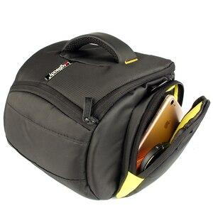 Image 3 - Bolsa de hombro para cámara DSLR, resistente al agua, para Nikon D3300, Canon, 200D, Pentax, Sony, Fujifilm, XE3, Olympus