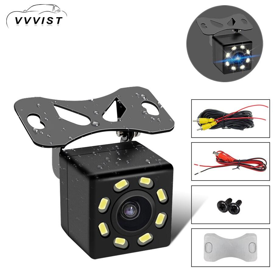 Vue Arrière de voiture Caméra HD Grand Angle Vision Nocturne Imperméable À L'eau 170 Degrés Mini Voiture Caméra Parking Inverse De Voiture Rétroviseur caméra