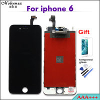 Promotion All Test AAA For IPhone 6 LCD Touch Screen Display Digitizer Assembly Replacement Black White