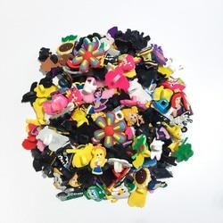 Lote de 500 Uds de bolígrafos con abalorios de paja para decoración de lápices kawaii al azar, artículos de papelería de oficina para estudiantes, suministros de lápiz, regalos para niños