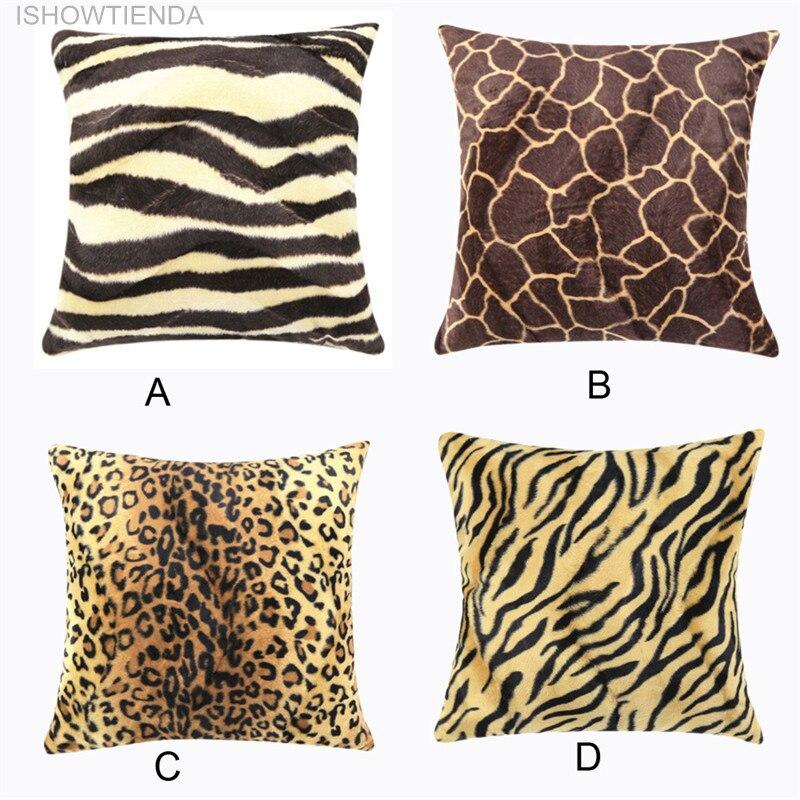 Ishowtienda 2016 Hot Animal Zebra Leopard Print Pillow