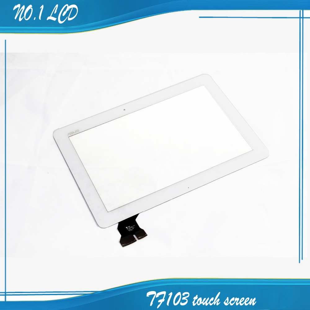 For ASUS Transformer Pad TF103 TF103CG New White Touch Screen Panel Digitizer Glass Lens Sensor Repair Parts Replacement antique brass swivel spout dual cross handles kitchen