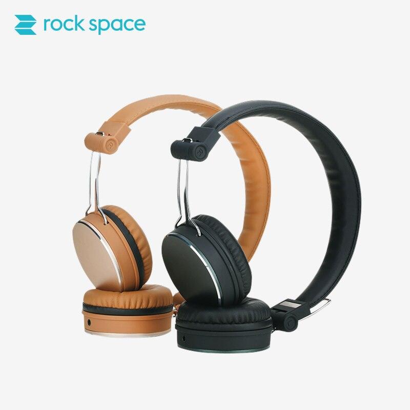 ROCCIA SPAZIO Cuffie Auricolare Stereo Noise Cancelling Auricolari HIFI  Suono Chiaro Vocale per Iphone Samsung Xiaomi HTC 490d53a40064