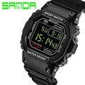 SANDA Digital-Watch Sport Men Watch Military LED Digital Watch Dive 30M  Fashion Outdoor Wristwatches clock Relogio Masculino