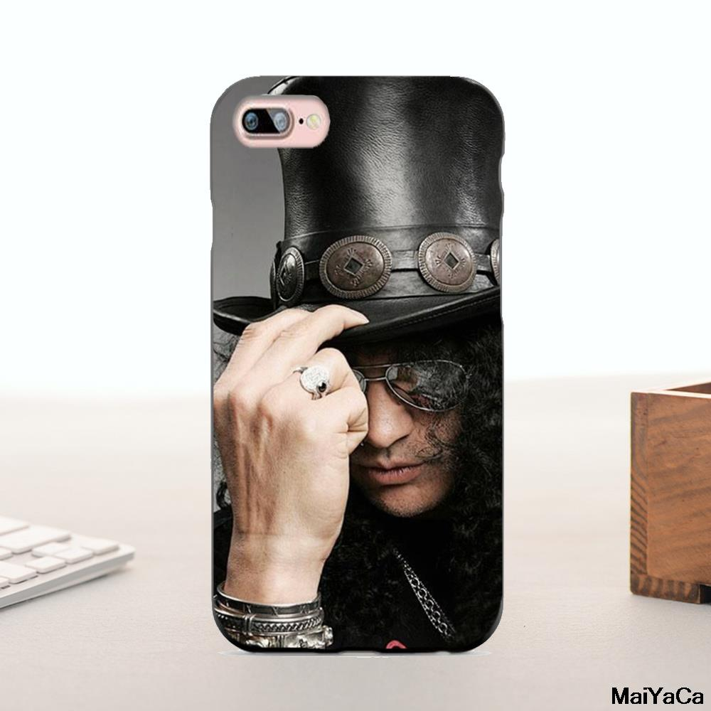 MaiYaCa Silicone <font><b>case</b></font> <font><b>Guns</b></font> <font><b>n</b></font> <font><b>Roses</b></font> Rock Band Lead Singer Design Cute <font><b>Phone</b></font> Accessories For iphone 6 6plus 7 7plus