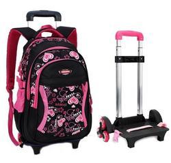 Mochila de viaje para chico, mochila de carro escolar para niñas, mochila con ruedas para niñas, mochilas escolares con ruedas para niñas