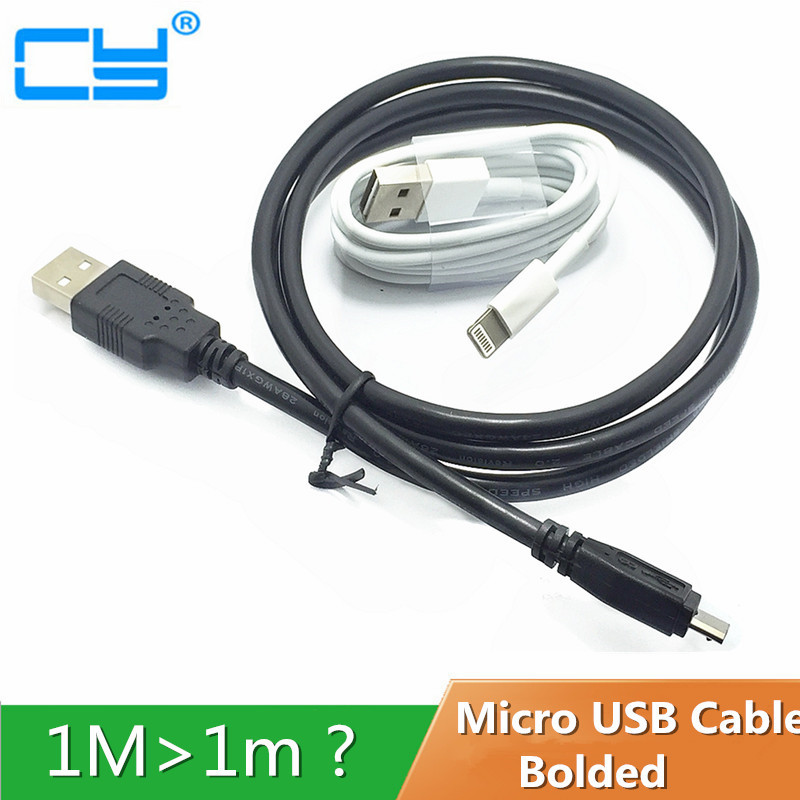 Super Strong Micro USB Fast Charge Cable For Samsung Galaxy S6 Xiaomi 0.2M 1M 2M 3M 5M