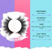 5 Pairs False Eyelashes Mink Eyelash Extension Artificial Eyelash Fake False Eye Lash Eyelashes Free Shipping