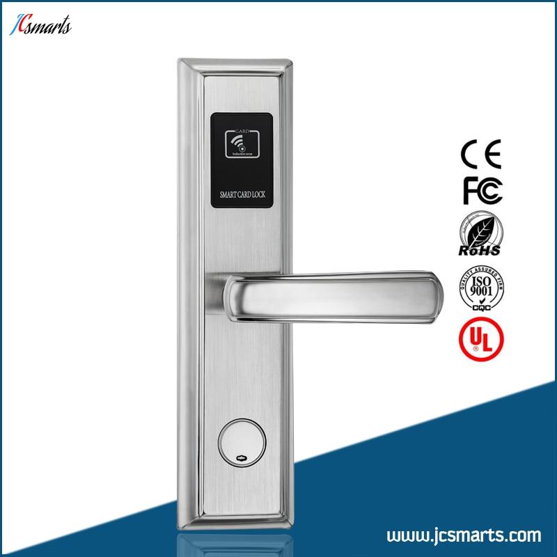 Apartment hotel lock security key card lock electronic digital smart door lock