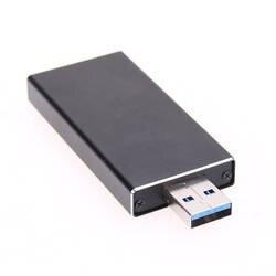 Внешний B Ключ M.2 NGFF SSD на USB 3,0 Супер Скорость конвертер адаптер Корпус 6Gbs Алюминий сплава SATA на основе B Ключ SSD