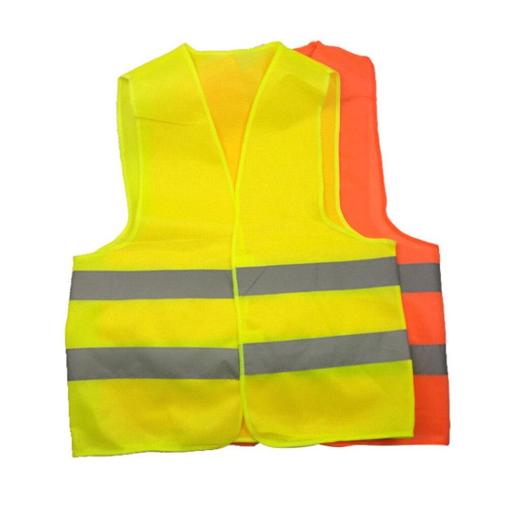 Vernuftig Hoge Zichtbaarheid Running Reflecterende Vest Veiligheid Apparatuur Night Work Tops Duurzaam Ademend Mesh Doek Veiligheidswaarschuwing Unisex Elegante Vorm