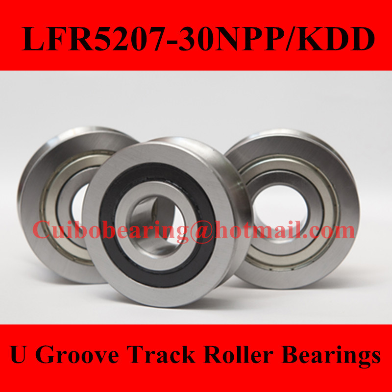 Free Shiping 1PCS LFR5207-30KDD  LFR5207-30NPP Groove Track Roller Bearings size:30*80*29mm прогулочные коляски cool baby kdd 6688gb a