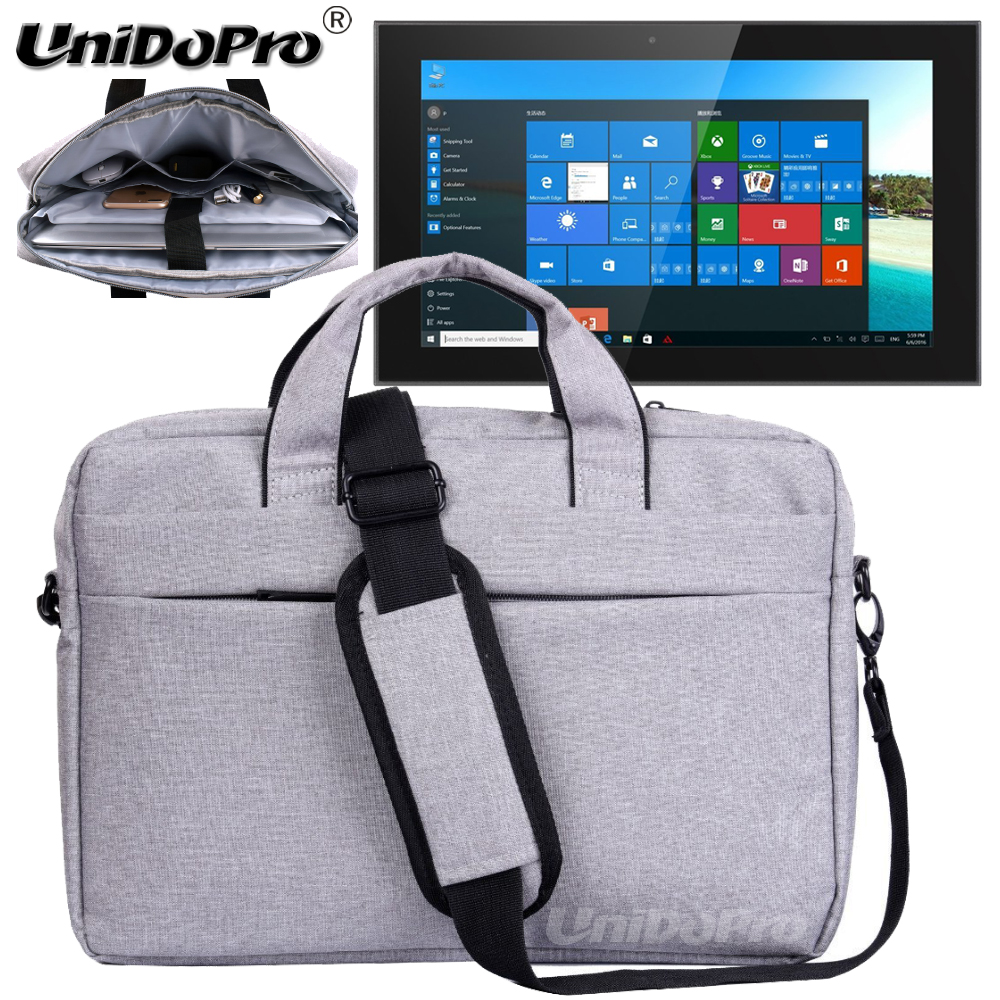 UNIDOPRO Waterproof Messenger Shoulder Bag Case for Teclast X3 Plus, X16 Power, X16 Pro, X2 Pro 11.6inch Tablet PC Sleeve Cover