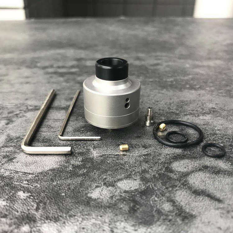 New Haku Style Tank YFTK Haku Venna RDA In 22mm Diameter 510 Driptip With 316 Stainless Steel