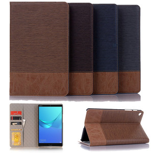 "Premium PU Leather Case For Samsung Galaxy Tab A 8.0"" inch 2019 S-Pen Magnetic Cover For Samsung Tab SM-P200 SM-P205 Funda Case(China)"