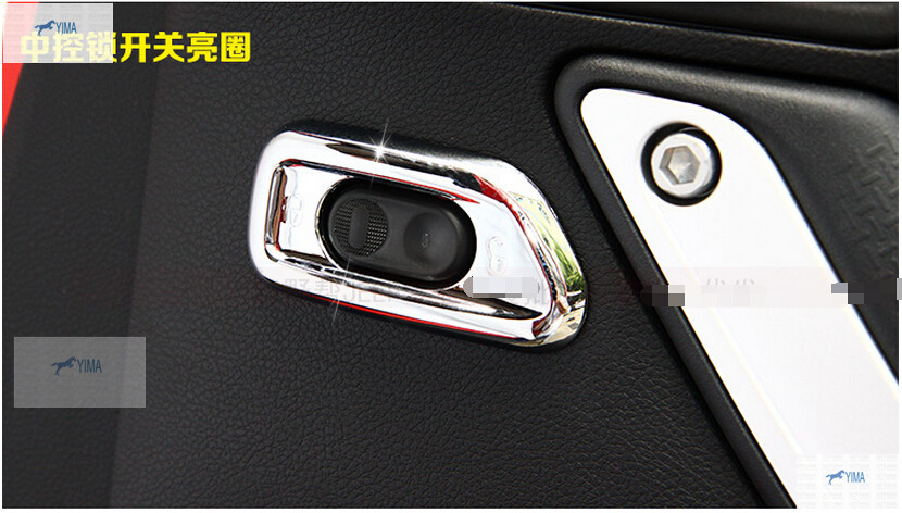 For Jeep Wrangler 2009 2015 font b Car b font Door Lock Switch Button Decoration Cover