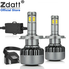 Zdatt 360 Degree Lighting CSC Chip H4 Led Bulb 100W 12000LM Headlights H7 H8 H119005 HB3 9006 HB4 Car LED Light Auto Fog Lamp