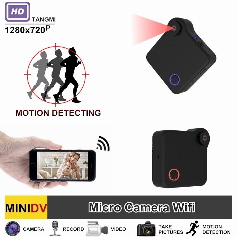 TANGMI C1 Full HD Video 720 P DV DVR Mini-kamera Wifi Drahtlose IP Micro Camcorder Mit Bewegungssensor Besten Tragbaren Cam