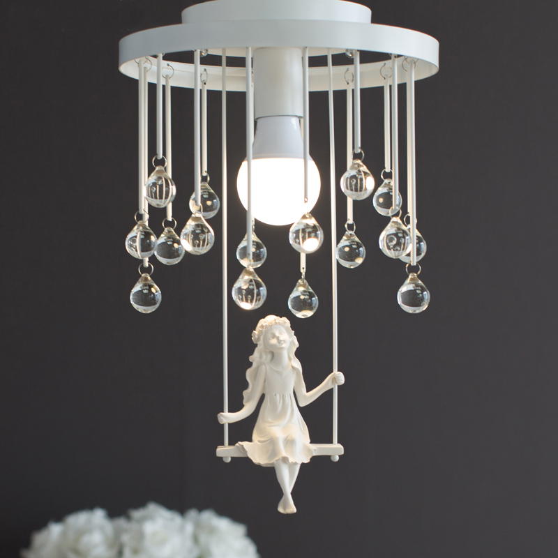 Nordic Modern Aisle Crystal Ceiling Light Sensor Sweet Little Girl Ceiling Lamp Lighting For Living Rooms Kids Room 110-240V n°8 куртка