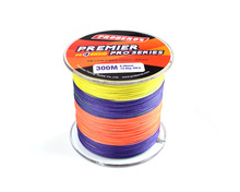 300M PE Super Braided Fishing Fly Line Available 8LB-100LB Spider Strong Nylon Wire Fluorocarbon Rope Cord Fishing Tackle