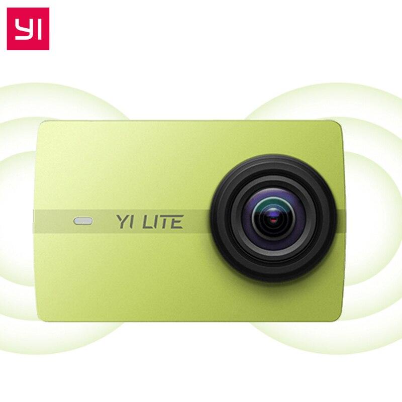 YI Lite D'action Caméra Réel 4 K Sport Caméra Bluetooth 16MP EIS WIFI 2 Écran tactile LCD 150 Degrés Lentille Édition Internationale