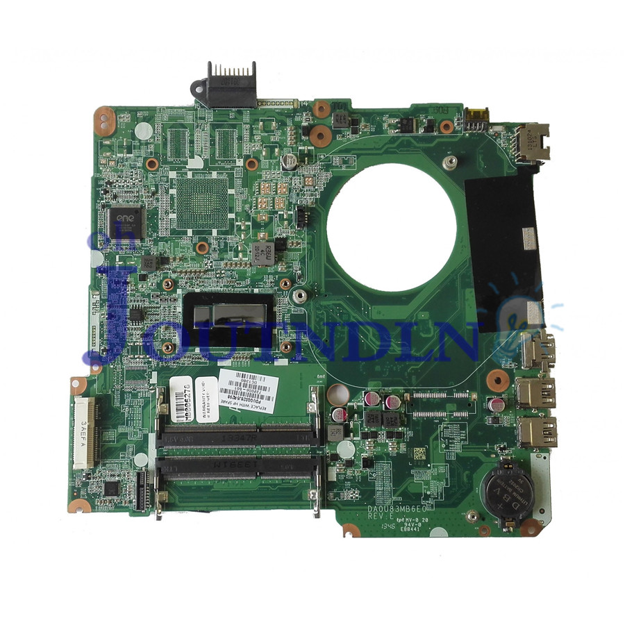 Joutndln For Hp Pavilion 15-n Series Laptop Motherboard Da0u83mb6e0 732086-001 732086-501 Ddr3 W/ I5-4200u Cpu Volume Large Laptop Motherboard