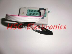 Image 2 - V7.03 TL866II PLU USB uniwersalny Minipro programista 9 sztuk adaptery + Test klip + 25 SPI Flash adapter