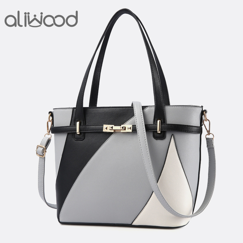 Aliwood Europe New Women's Handbags Shoulder bag Ladies' Leather Messenger Bag Large Capacity Design Fashion Crossbody Bags Tote