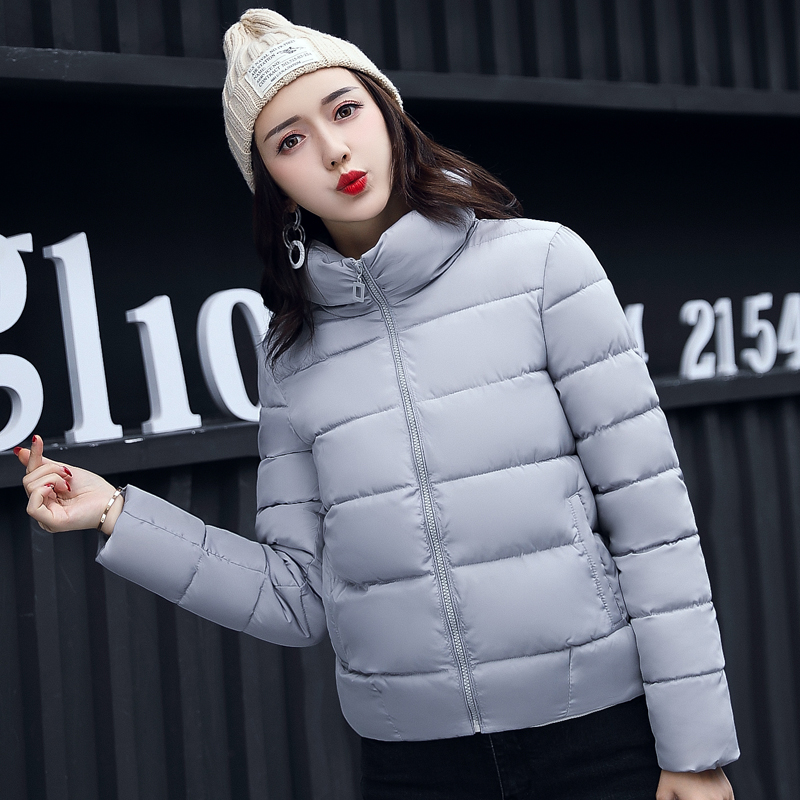 New Winter Down Coat Womens Winter Parka Coats Warm Jacket Thick Padded Slim Down Coat Female Winbreak