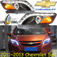 SaiI Headlight 2011 2013 Fit For LHD RHD Need Add 200USD Free Ship SaiI Fog Light
