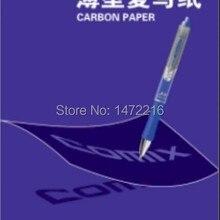 Comix D4032 копировальная бумага из углеродистой бумаги 100 листов размер 128*85 мм, цвет: синий