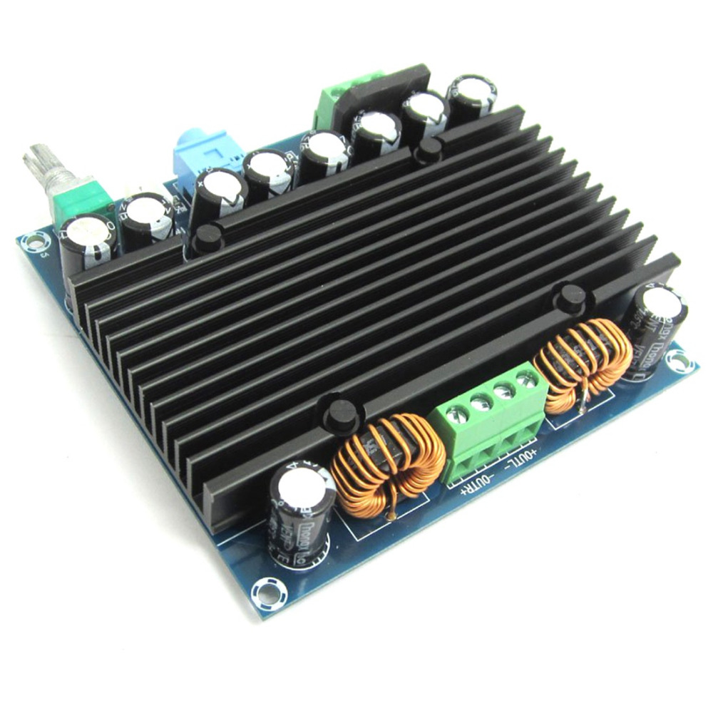 High Power Digital <font><b>Amplifier</b></font> 2x210W TDA8954 <font><b>HiFi</b></font> 2.0 Channel Audio <font><b>Amplifier</b></font> Board AC 12-28V image