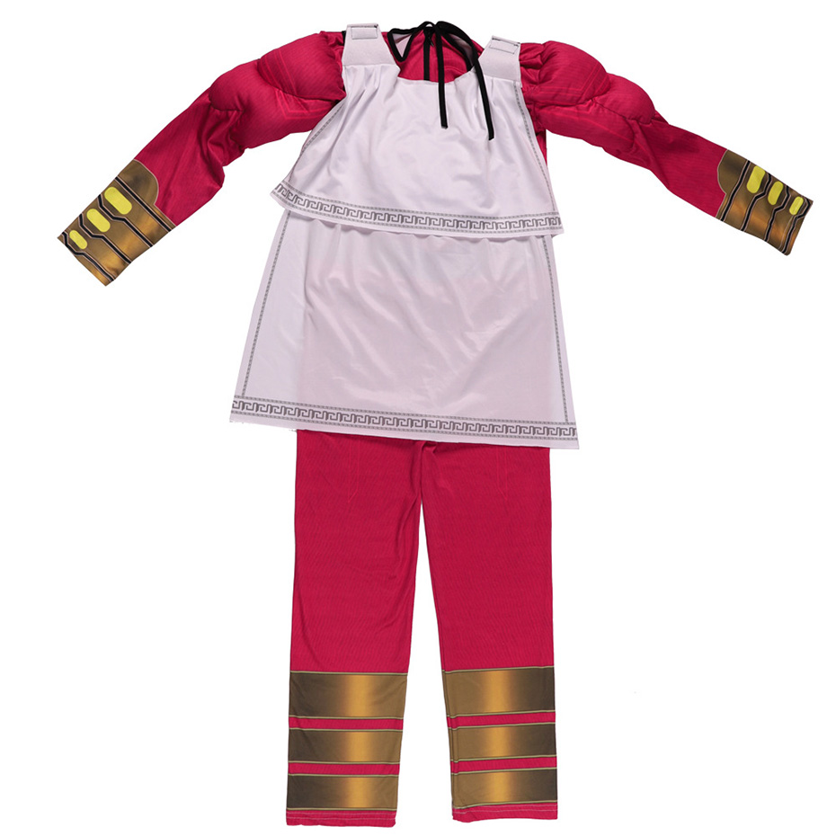 Thunder Shazan Shazam movie children magic captain cosplay Billy Batterson COS anime stage clothes in Boys Costumes from Novelty Special Use