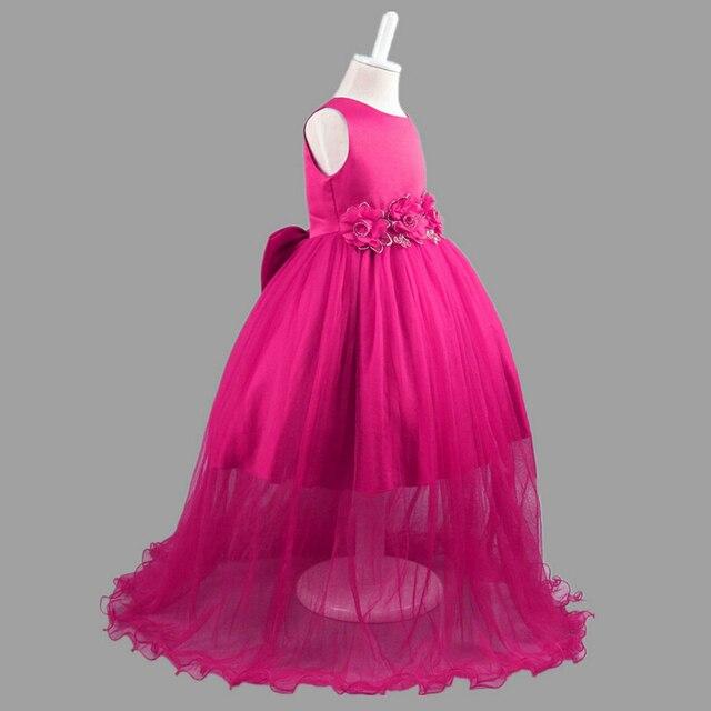 c41654e9a 2017 summer Kids clothes New Baby Girls Party Dress Evening Wear ...