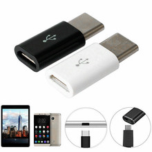 For Android Type-c To Micro USB Adapter Type-c Interface Mobile Phone Data Line Charging Converter Auto Fastener(China)