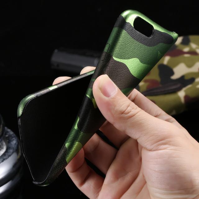 Military Camouflage Phone Case  iPhone 7 7 Plus 6 6S Plus 5 5s
