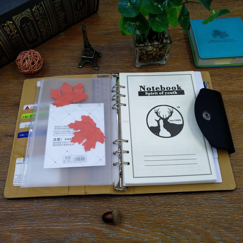 A5 notebook folder