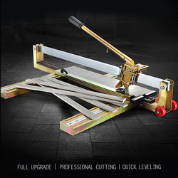 Hoge Precisie Handmatige Tegelsnijder Tegel Push Mes Vloer Wandtegel Snijmachine 1000mm【model 1000】