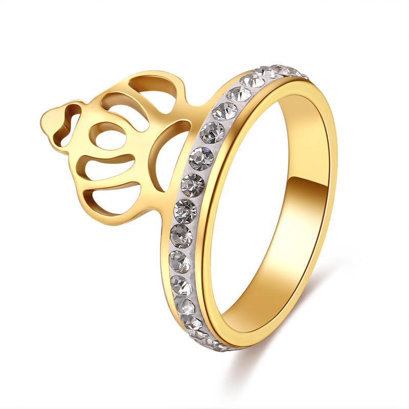 Buy royal gold ring and free shipping on AliExpress