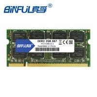 Binful оригинальный DDR2 2 ГБ 667 мГц ОЗУ PC2-5300 200 контакты памяти Moudle SODIMM ram Memoria для ноутбука Тетрадь