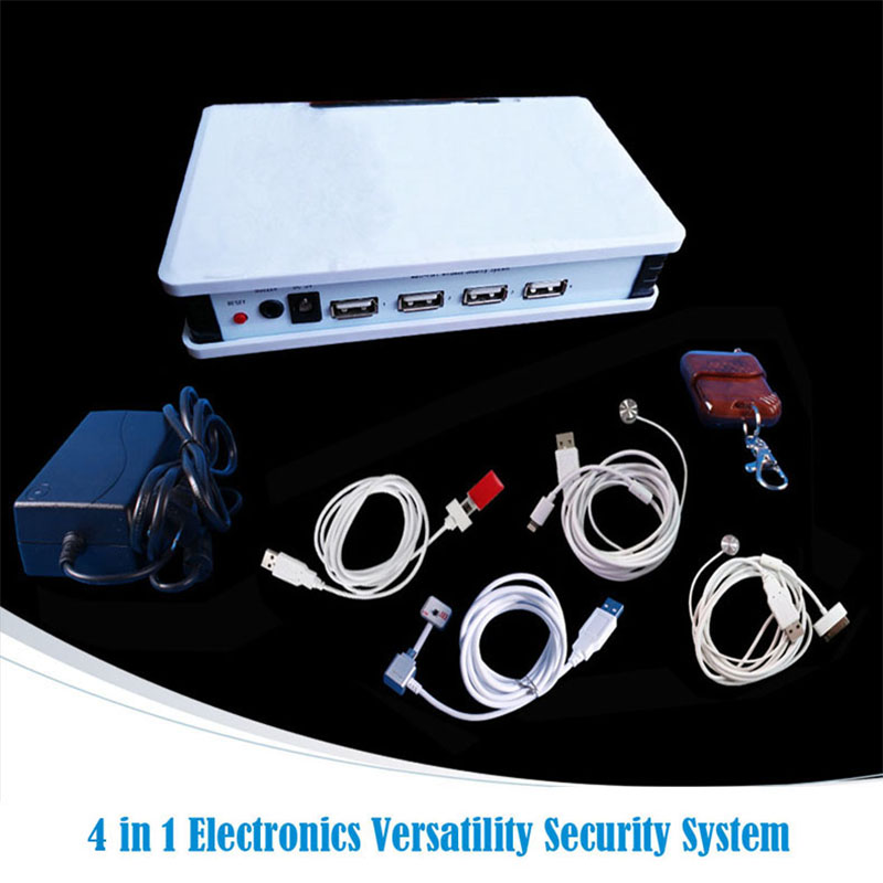 4 in 1 tablet pc and phone security display alarm system for electronics shop anti-theft sale+EMS/DHL free lem htr200 sb sp1 used in good condition with free dhl ems