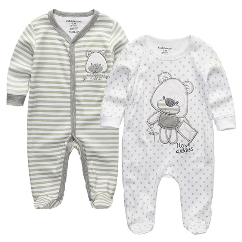 Kavkas Bebes Roupao De Banho Newborn Gown Baby Boy Pajamas Full Sleeve Sleepwear Set Baby Clothing Moderate Price Mother & Kids