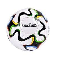 SANKEXING 축구 전문 일치 축구 크기 5 훈련 장비 월드컵 다채로운 축구 표준 게임 Soccers 공 1