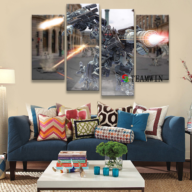 Canvas painting wall artist residence decoration living room HD